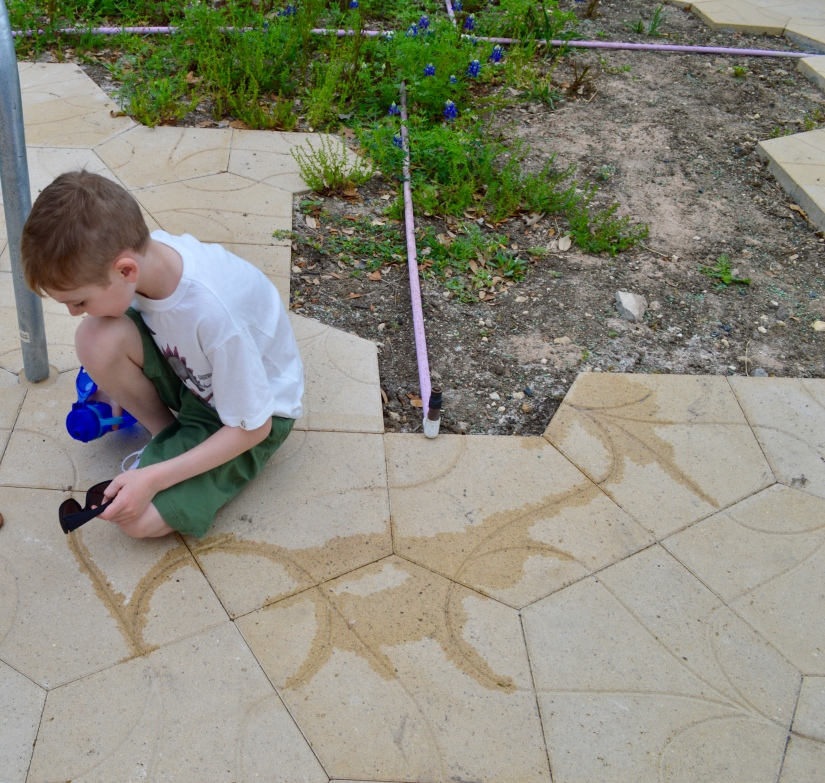 Pentagonal paver system creates patterns