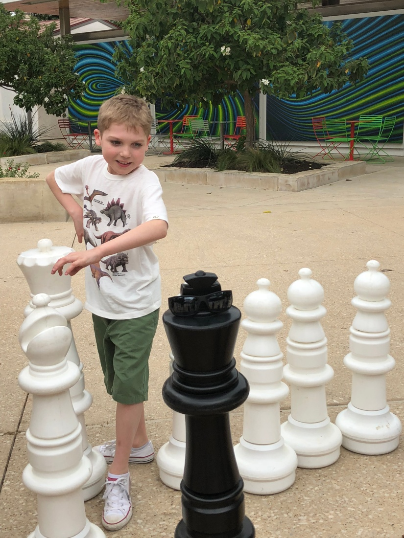 Giant Chess at Yanaguana Garden