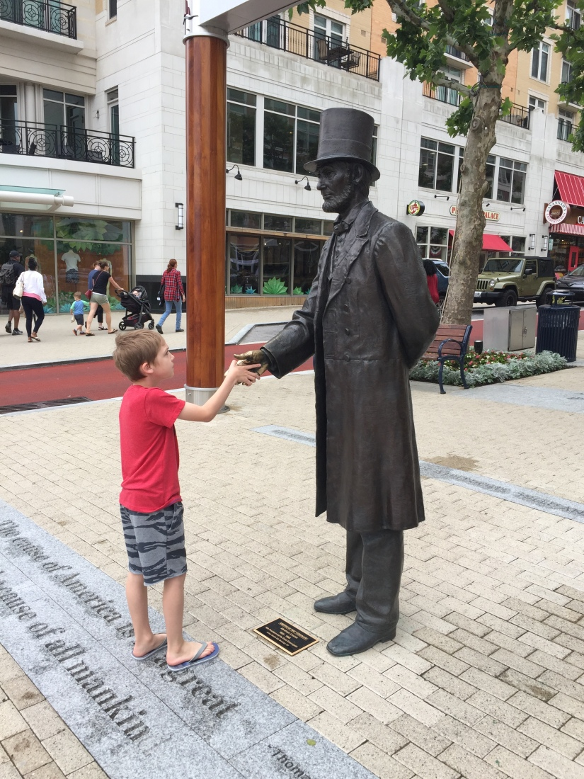 Meeting Abraham Lincoln